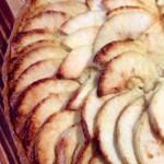 I stopped short of the freshly made apple tart