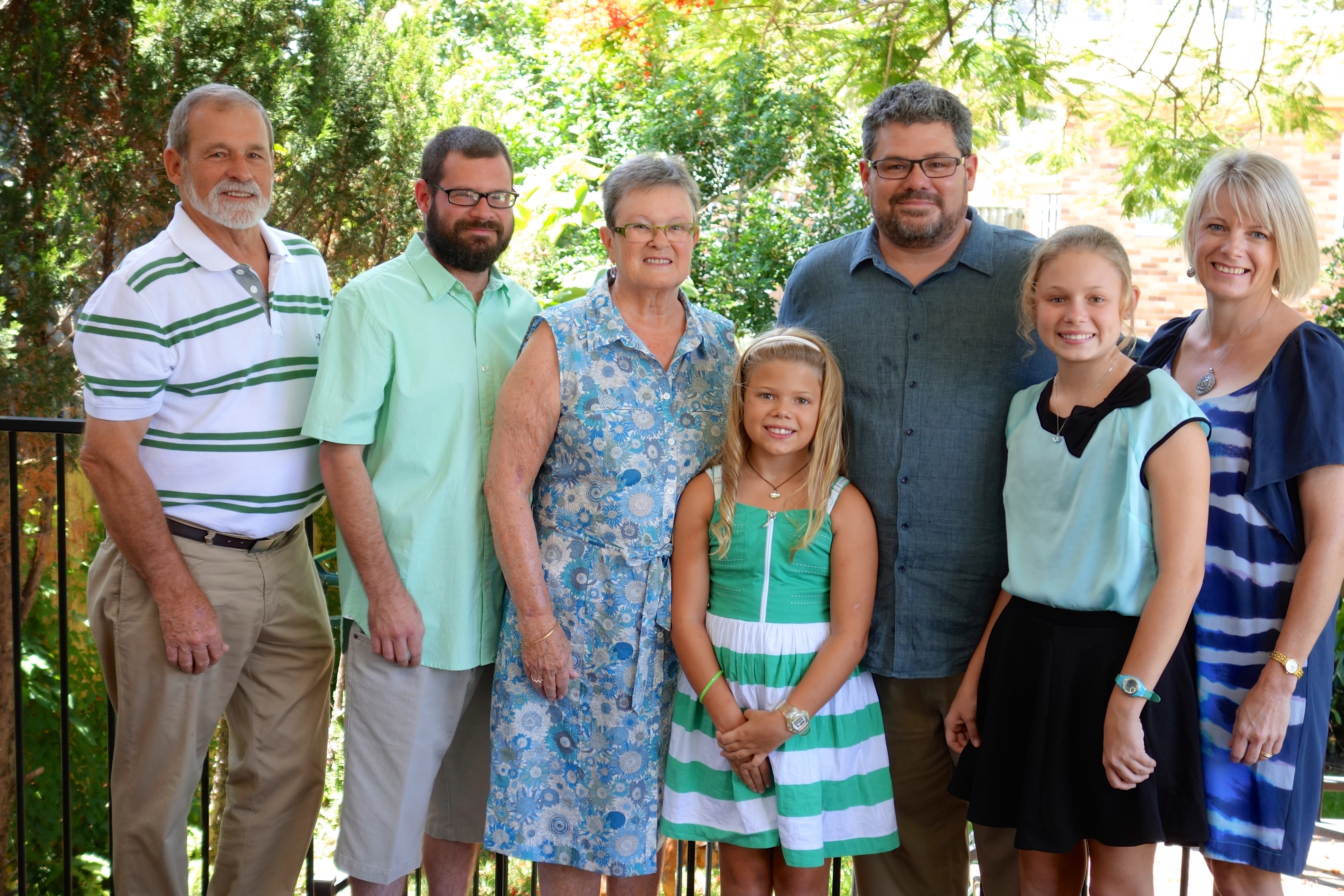 The Anne and Trevor Schramm families