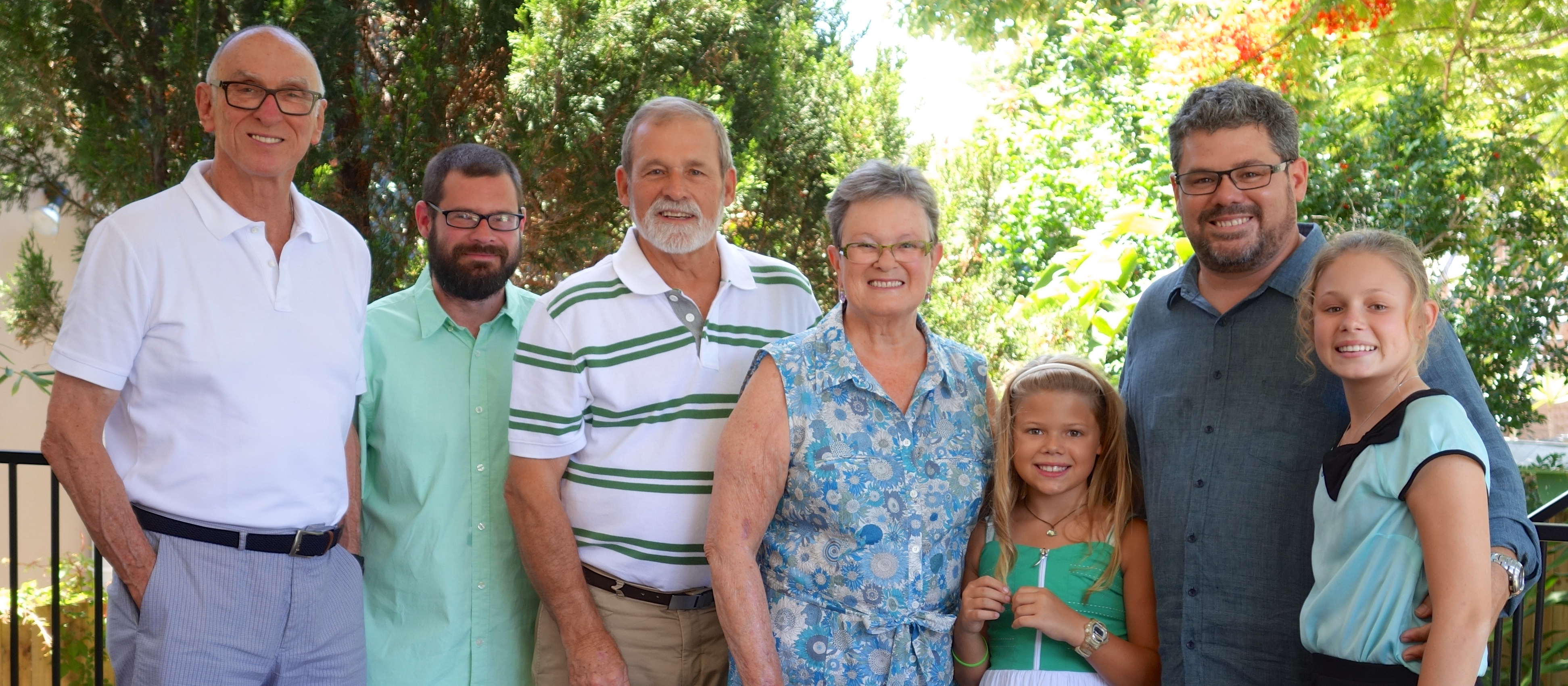 Uncle Michael joins the Schramm families