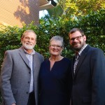 My sister Anne with Trevor and son Michael