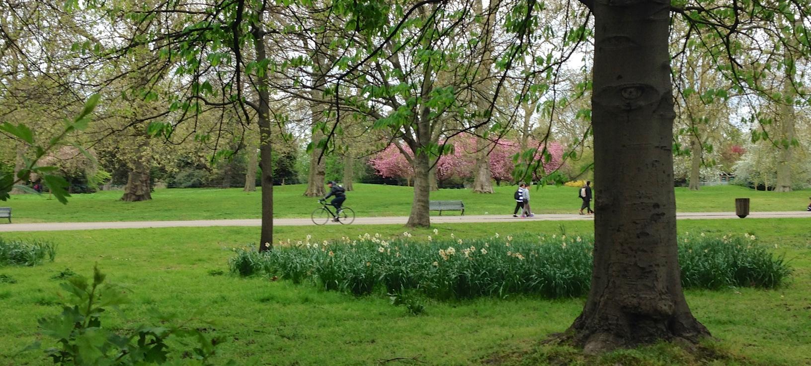 An odd-bod's take on a week in London – April 2015