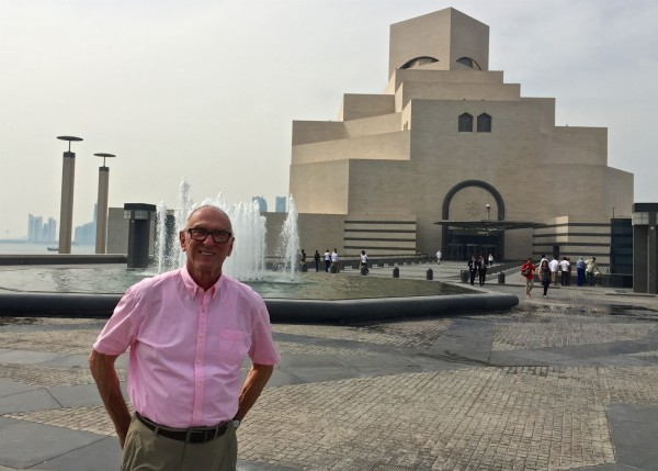 Michael at the Museum of Islamic Art in Doha