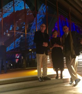 Discussing the indigenous lighting of the sails with Opera House CEO Louise Herron