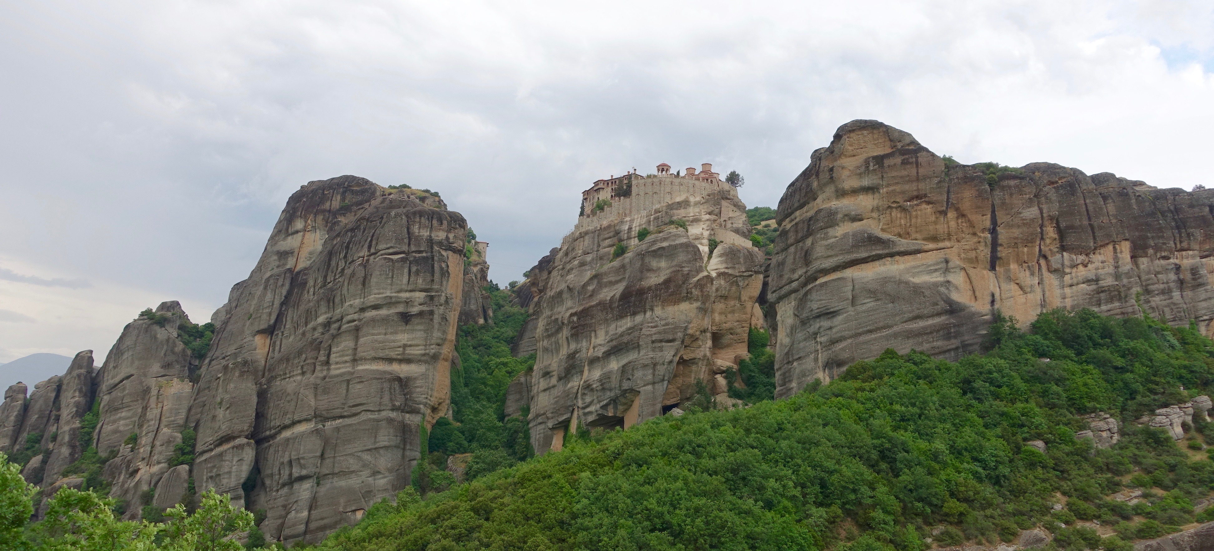 The Monasteries of Meteora, Central Greece
