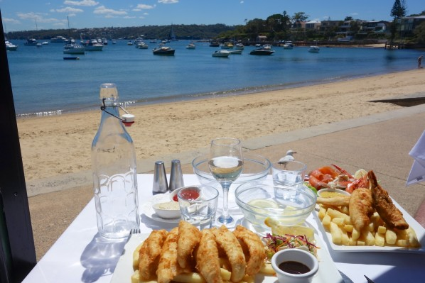 Whiting fillets - beachside