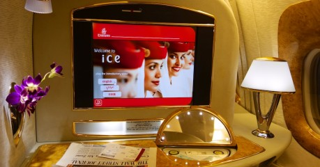 Emirates Boeing 777 from Dubai to Milan