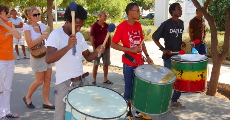Street band entertains