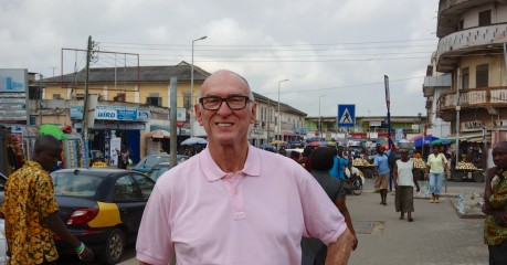 Michael in Takoradi, Ghana's fourth city