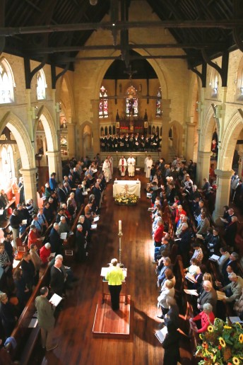 300+ people packed into St Canice's for the 125th Anniversary Mass