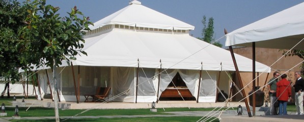 Tented Camp at Aman-I-Khas in Ranthanmbore National Park India