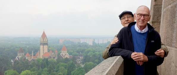 In Leipzig – with friends of nearly 50 years