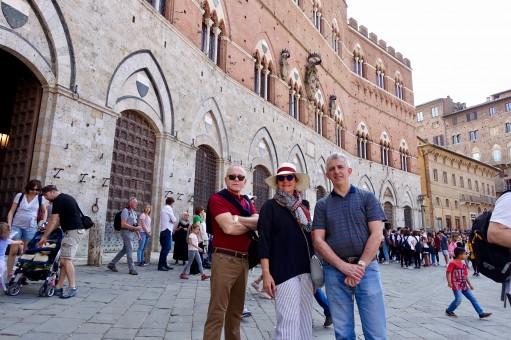 Edmundo, Juanita and Agostino - Siena