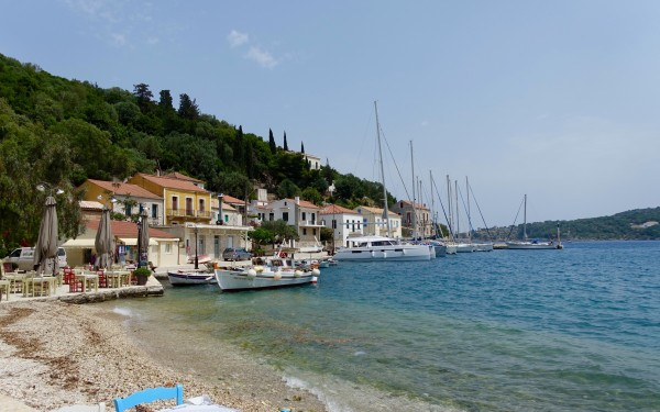 We drive to the north of Ithaca to the all but deserted fishing town of Kioni