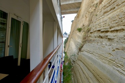 A 'tight fit' in the Corinth Canal