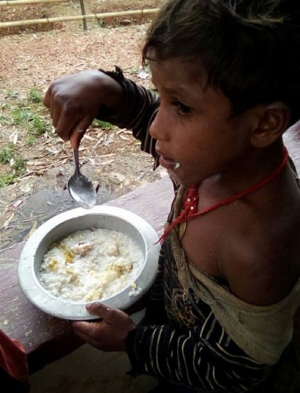Children's Feeding Program in villages surrounding Railaco