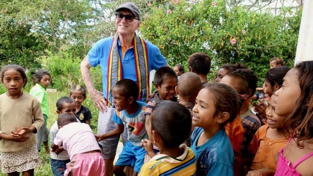 Visit to Railaco, East Timor in 2017