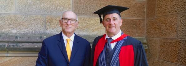 Celebrating a Doctorate at the University of Sydney