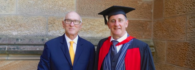Celebrating a Doctorate at the University of Sydney