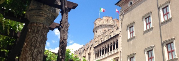 Medieval and Renaissance Trento in the foothills of the Alps