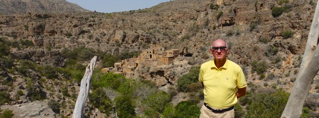 In the Mountains of Central Oman at Alila Jabal Akhdar Hotel
