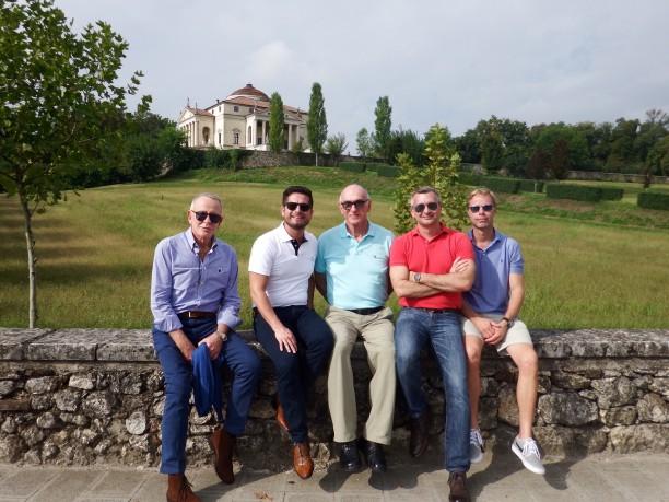 Villa La Rotonda is a Renaissance villa just outside Vicenza in northern Italy, and designed by Andrea Palladio