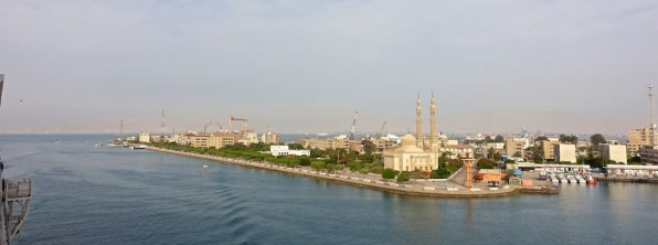 The Suez Canal – a first for me