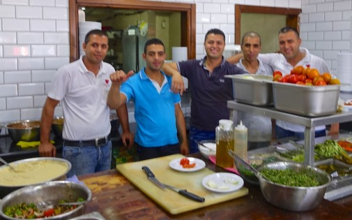 An extended family of 1948 Arab Moslems from Palestine now living in Israel are so hospitable and proud