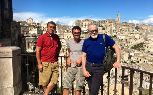 Our knowledgeable guide Antonio looked after Edmundo and Naser, who followed a couple of weeks later