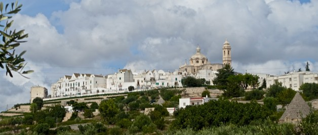 Ethereal meets expletive in Puglia hill town of Locorotondo