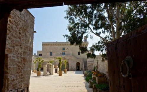 Masseria Trapanà, is a restored medieval masseria that was once a fortified farmhouse.