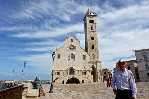 .Trani Cathedral dedicated to St Nicholas the Pilgrim - a greek shepherd