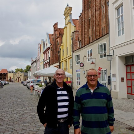 Michael and Frank in Stralsund
