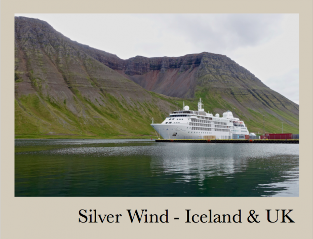13 days Cruise from Reykjavik to London Tower Bridge - August 2017