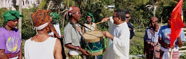 Music forms a great part of Timorese life