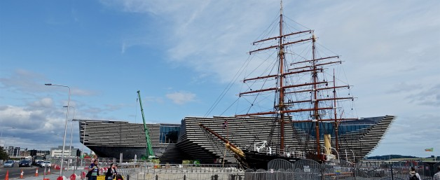 Sunday in Dundee, Scotland – on Silver Wind Cruise