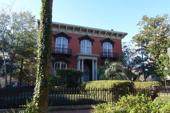 Mercer House in Savannah Ga - from the novel 'The Garden of Good and Evil'