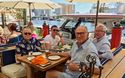 Lunch at 'Sea Spice' on the Miami River with Edmundo and Konrad
