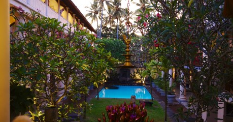 Our 'floor' of the Galle Fort Hotel -  on the top left