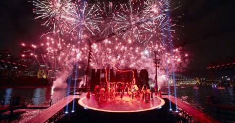 Fireworks in the Bullring (over Sydney Harbour)