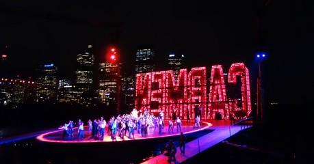A sneak peek of the Sydney skyline