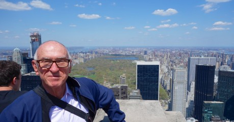 'Top of the Rock' with Central Park 69 floors below