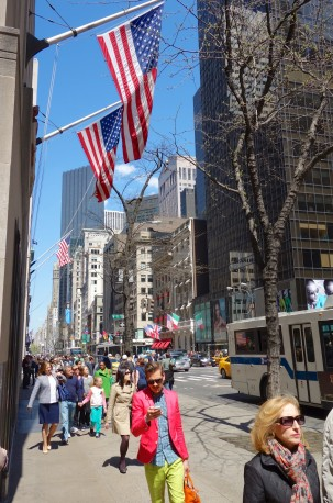 Fifth Avenue on a sunny Spring day