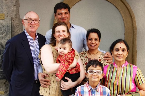 Michael joins Jac's 'Indian' family at Ethan's puja