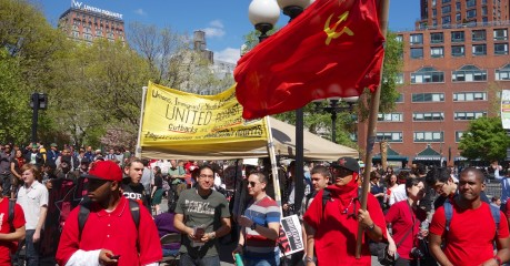 May Day in Union Square - Freedom in America