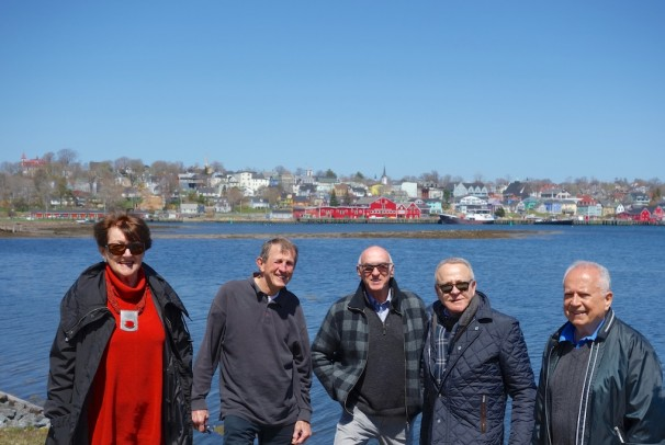 The gang's all here - in Lunenberg