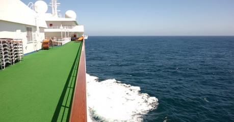 Life on the ocean wave - in the North Atlantic