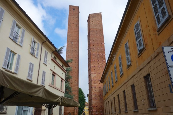 Pavia, outside Milan on the way to Genoa, once the town of 100 towers
