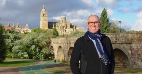 Michael in front of the 1st century Roman Bridge