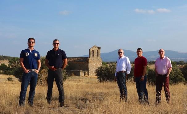 Ricardo, Michael Iñesta, Edmundo, Nasser, and Michael M -  in 'The Fields of Castille'